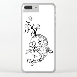 A Fish Afloat Clear iPhone Case