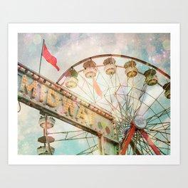 A Carnival In the Sky II Art Print