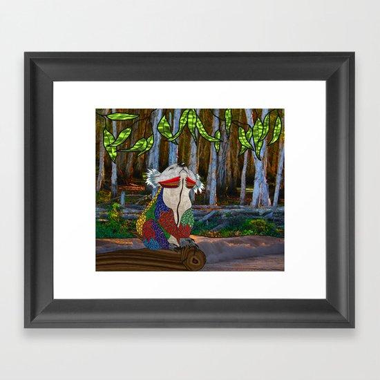 Doodlage 07 - Koala Dreaming Framed Art Print