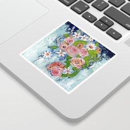 Celestial Sky Flower Garden Sticker