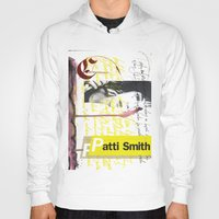 calligraphy Hoodies featuring Calligraphy 4 by omerfarukciftci