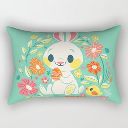 Sweetest Easter Bunny Rectangular Pillow
