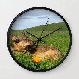 Majestic Moose Wall Clock