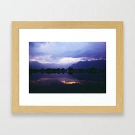 Kashmir India Photography Framed Art Print