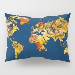 World Map 42 Pillow Sham