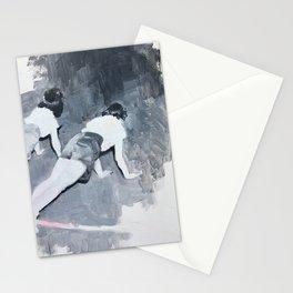Push-ups Stationery Cards
