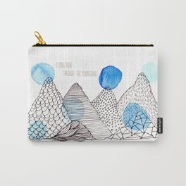 Flying high through the mountains Carry-All Pouch