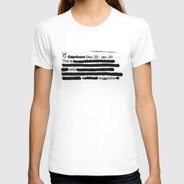 Capricorn 1 T-shirt