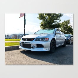 Mitsubishi Lancer Evolution IX GSR Canvas Print