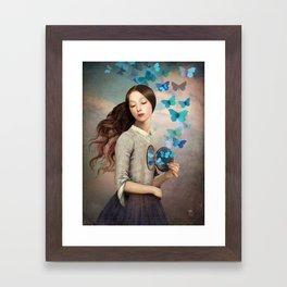 Set Your Heart Free Framed Art Print