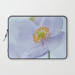 Japanese Anemone ii - Spring Garden Flower Laptop Sleeve
