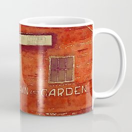 Lawn and Garden Shop, Norway, ME Coffee Mug