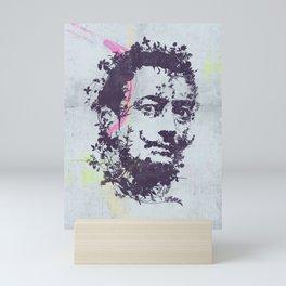 Dali botanical portrait Mini Art Print