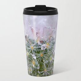 Dew Covered Cactus Travel Mug