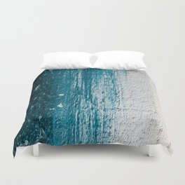 Distressed Wood Duvet Cover