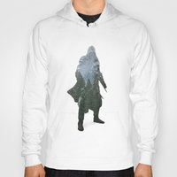 assassins creed Hoodies featuring Assassins Creed - Woodland 2 by Fatih