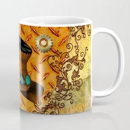 Steampunk, hat with clocks and gears Coffee Mug