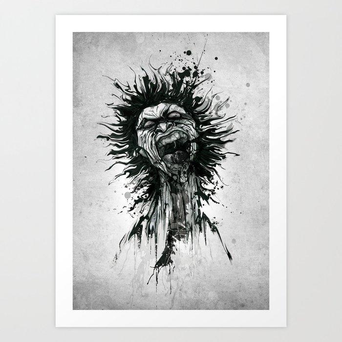 Zomb'INK Art Print