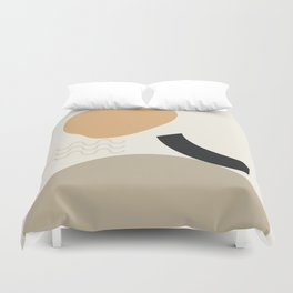 // Shape study #24 Duvet Cover