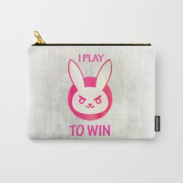 I play to win Carry-All Pouch