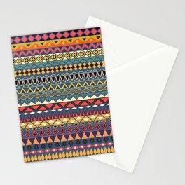 Vintage tribal aztec pattern Stationery Cards