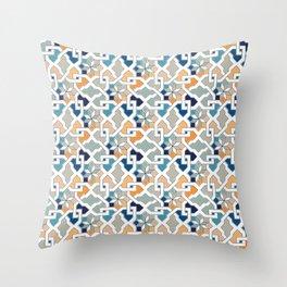 Geometric Pattern - Oriental Design Throw Pillow