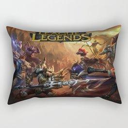 Battle Jungle Rectangular Pillow