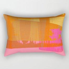 abstract fucsia Rectangular Pillow