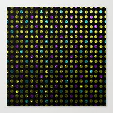 Polkadots Jewels G189 Canvas Print