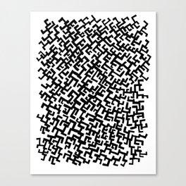 Not a Maze Canvas Print