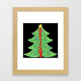 CDC Resist Tree Framed Art Print