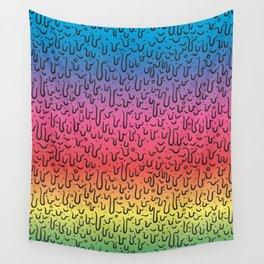 Rainbow Goo Wall Tapestry