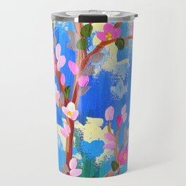 Rustic Blossom Travel Mug