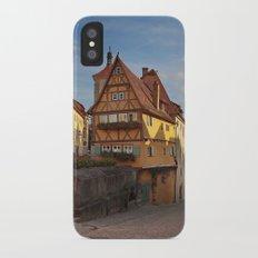 Rothenburg ob der Tauber Slim Case iPhone X