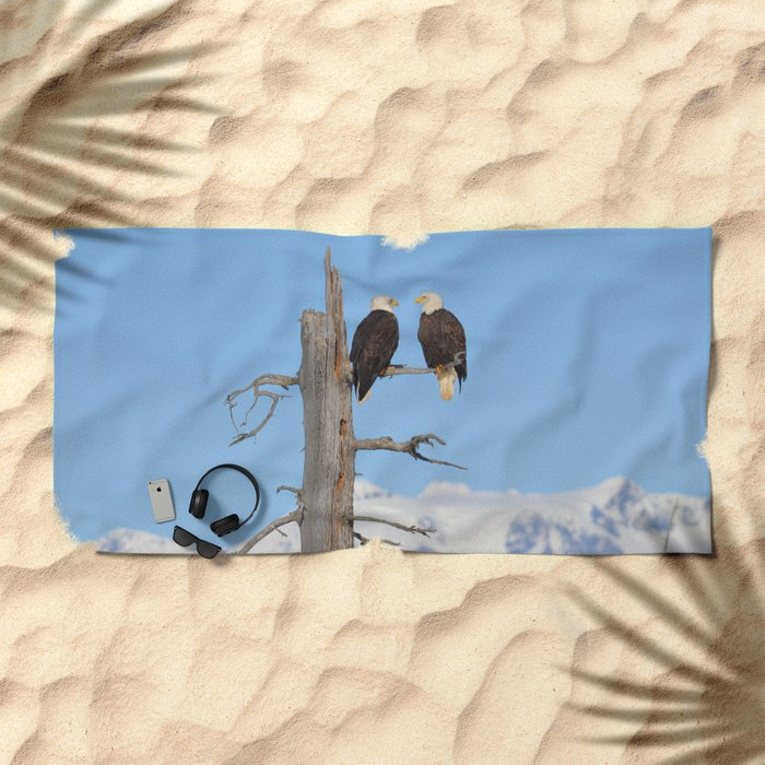 Perched With A View Duo Beach Towel