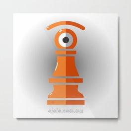 pawn's eye Metal Print