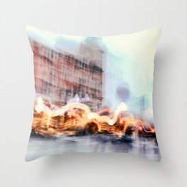 Malmo In Motion 3 Throw Pillow