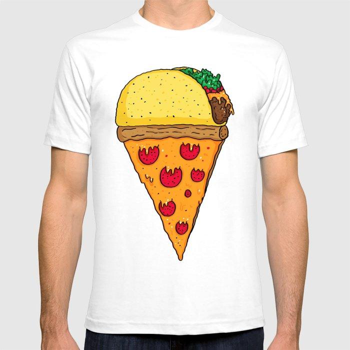 Taco Pizza Cone T-shirt