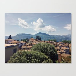 Tuscan Hillside Canvas Print