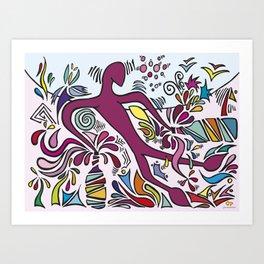 Bacchus' Creation Art Print