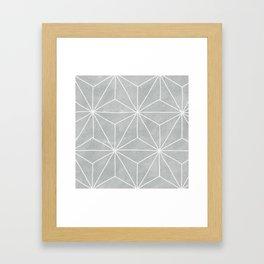 Geometric Vibes Framed Art Print