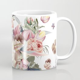Spring mood illustration with roses Coffee Mug