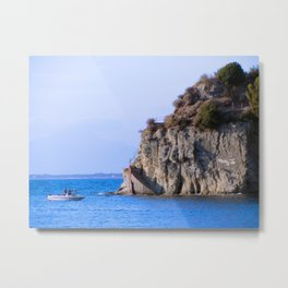 Right there, is the sea Metal Print