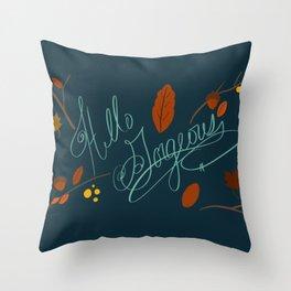 Hello Gorgeous! Throw Pillow