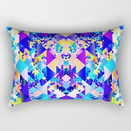 Abstract Pattern Design Rectangular Pillow