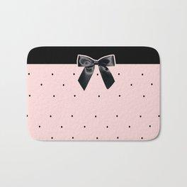 Black Tie Affair: Pink Bath Mat