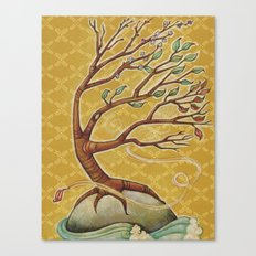 Four Seasons Tree Canvas Print