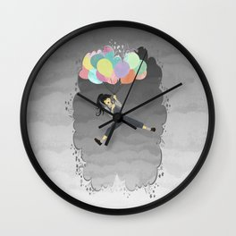 Balloon Ride Wall Clock