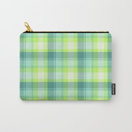 Spring Plaid 3 Carry-All Pouch