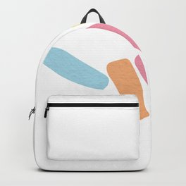 Shaka Hang Loose Abstract Hand Sign Backpack